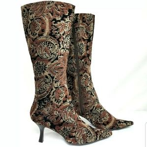Bronx Tapestry Boots